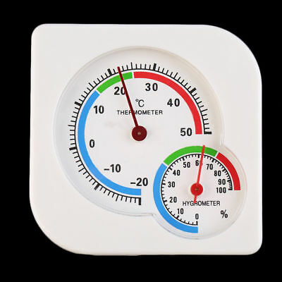 Indoor/Outdoor Digital LCD Thermometer Hygrometer Meter Temperature Humidity ON