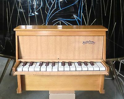 Jouet Ancien Toy Piano Michelsonne Paris 25 Touches
