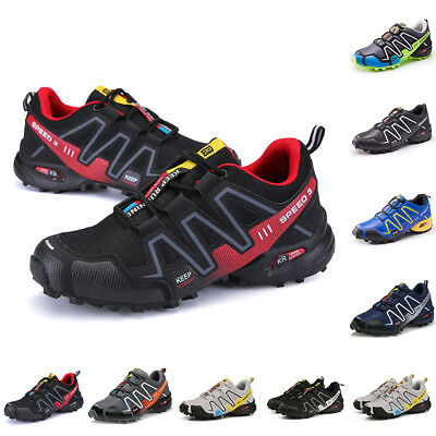 Mens Salomon Speedcross 3 Wearable Breathable Athletic Hiking 6Color Boots Shoes