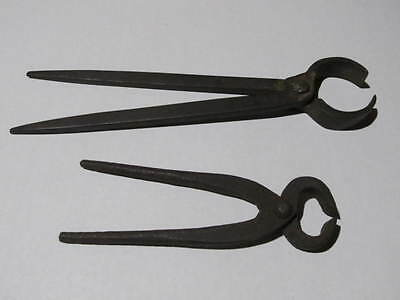 2 Pieces Of Vintage Blacksmith Nippers **** Please Read ****
