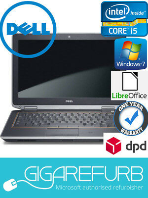 Dell E6320, Intel i5 2520M, 2.5GHz, 4GB DDR3, 320GB HDD, Windows 10