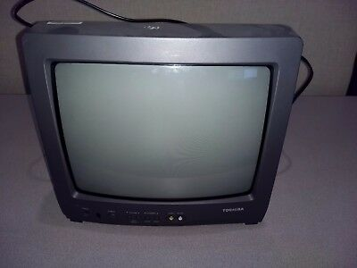 Toshiba Television Monitor 13A21 Tested-Works