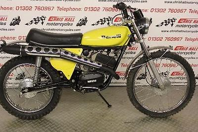 BENELLi TRAIL 125 GORGEOUS MID 70,s LOW MILEAGE CLASSIC
