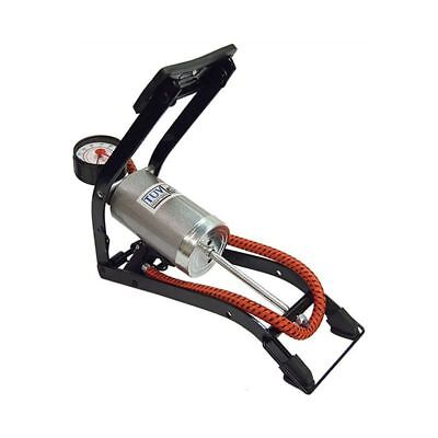 Streetwize Deluxe Quality Single Cylinder Foot Pump Car Accessories SWFPS