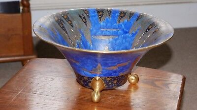 Collectable Carlton Ware Blue Round Bowl