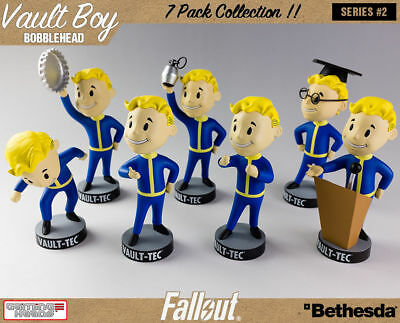 """New in Box Official 5"""" Fallout 4 Vault Boy Figure Tech 111 Bobbleheads Series #2"""