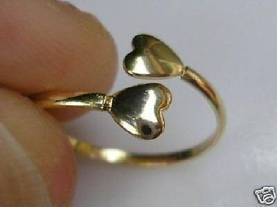 GENUINE solid 9ct Gold Toe Ring gf, OVER 220 SOLD, LAST FEW LEFT NOW ref 40