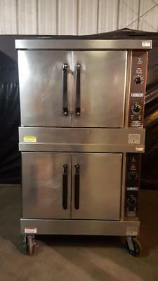 Hobart HGC5 Double Stack Gas Convection Ovens