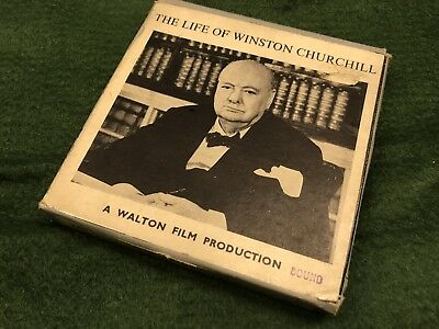 Standard 8 Sound Film, the life of Winston Churchill.