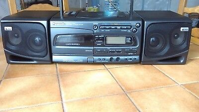 panasonic rx e300  radio cassette cd   ( model  tres rare)