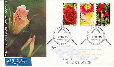 FDC - 1994-02-03:  Thinking of You