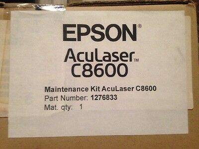 Genuine Original Maintenance Kit Epson AcuLaser C8600 . Part Number 1276833