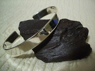 MEN'S SILVER TORQUE BANGLE, SOLID, HANDCRAFTED 37g