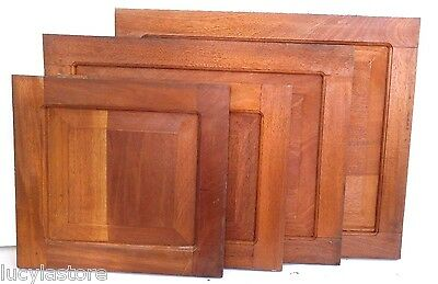 "16"" x 15"" RAISED PANEL KITCHEN CABINET DOOR unfinished SOLID WOOD Cedar Peruvian"