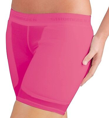 (Large, Pink) - Cramer Women's Low-rise Softball Sliding Shorts w/ Foam Padding