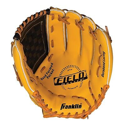 (32cm , Left Hand Throw) - Franklin Sports Field Master Series Baseball Gloves