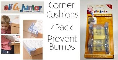 Corner Cushions Child Safety Prevent Bumps And Bruises By all 4 Junior New