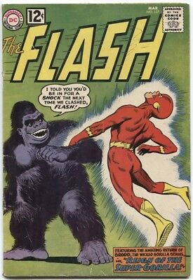 Flash (1959) #127 5.0 Vg/fn Gorilla Grodd Cover