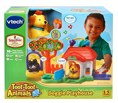 Toot Toot Animals Playhouse Vtech Baby Doggie Toy Multi Coloured