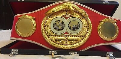 IBF BOXING CHAMPIONSHIP REPLICA BELT .international Boxing Federation(With Box)