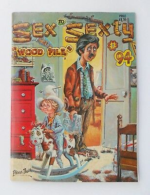 Sex to Sexty magazine No 94 - Adult Humour/Cartoons - 1977 - VF condition