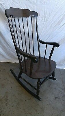Vintage Windsor  rocking chair