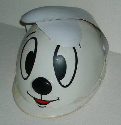 1950's Crusader Rabbit Club Kids Plastic Hat Jay Ward cartoon