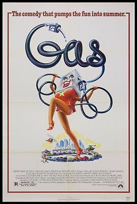 Original 1981 GAS One Sheet Movie Poster 27x41 Theater NOT REPRODUCTION