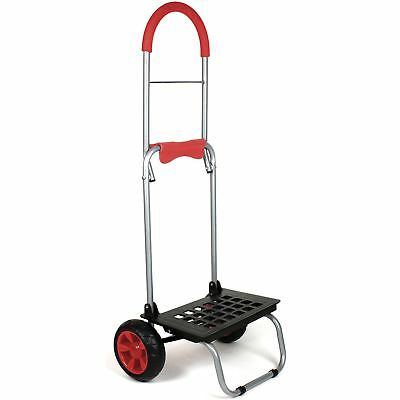 "dbest products Might Max Dolly 160 lb Capacity 15""x14""x38"" Red 01530"