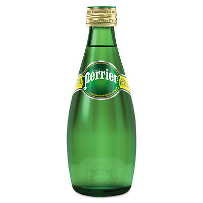 Perrier Sparkling Natural Mineral Water 11 oz Bottle 24/Carton 00410