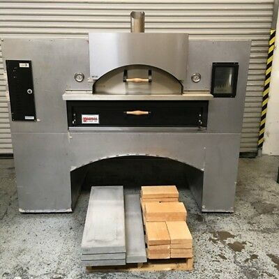Pizza Oven Gas Marsal & Sons Wave Flame WF60 #7076 Commercial Restaurant Bake