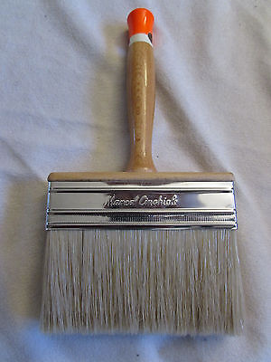 Cinghiale Professional Block Paint Brush Bristle &Synthetics Mixture 5x15  Italy