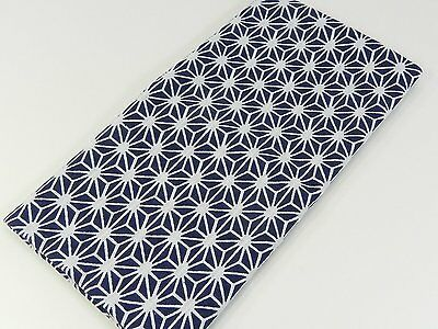 Japanese traditional towel TENUGUI  ASANOHA NAVY NEW COTTON MADE IN JAPAN