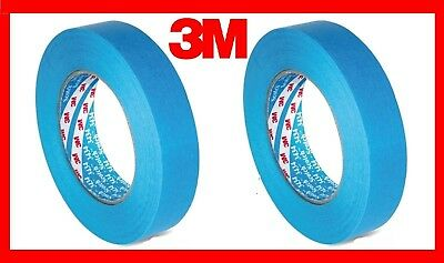 2 Rolls Of 3M 3434 Blue Masking Tape 19mm By 50m by 3M Scotch