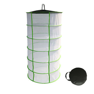 Herb Dryer Net 6 Tier Hydroponic For Plant Bud Drying Heavy Duty Dry Rack