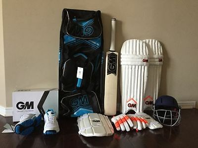 GM Chrome English Willow Complete Cricket Kit  Right Hand - 2017 Edition