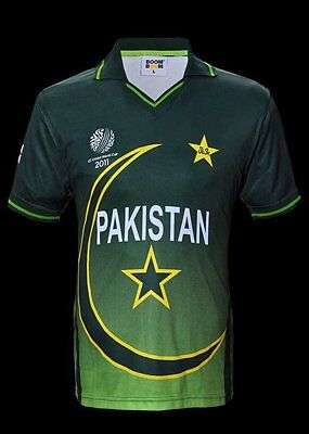 Official Pakistan Cricket World Cup Jersey - Size Small