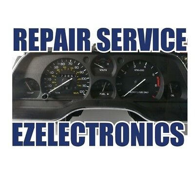 Repair Service 1989-1997 Ford Thunderbird Crown Victoria Instrument Cluster  Odo