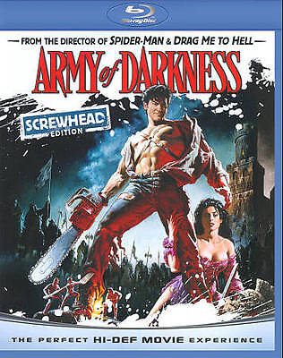 Army of Darkness (Blu-ray Disc, 2011, Screwhead Edition)