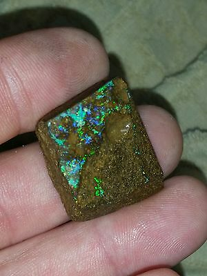 64.0Ct Natural Australian Boulder Opal Rough Specimen.