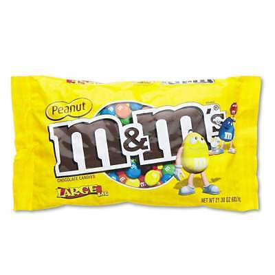 M & M's® Milk Chocolate/Candy Coated Peanuts, 19.2oz Pack 040000249290