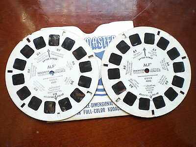 2 view master reels A and B ALF with bubble damages