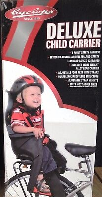 Cyclops Deluxe Child Carrier, cycle rear seat for a child