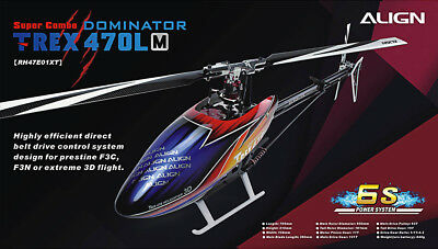 TREX 470LM Super Combo Helicopter ALIGN