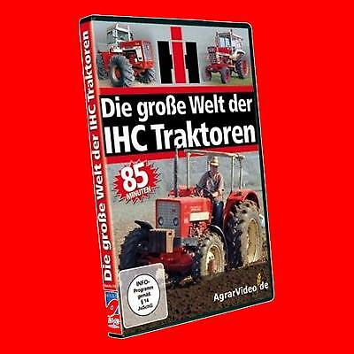 Dvd Ihc Trecker Die Welt Der Case Ih Schlepepr & Traktoren International Farmall