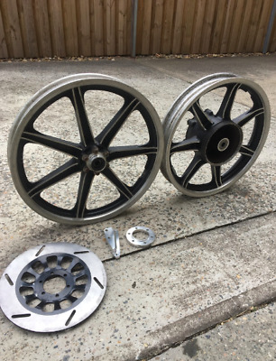 SR400 SR500 Mag Wheels Wheel W/ New Disc
