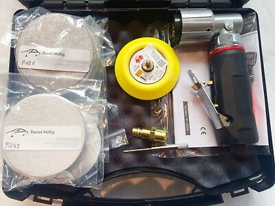 mini exzenter schleifer Set 75mm Smart Repair Spot Repair poliermaschine klein