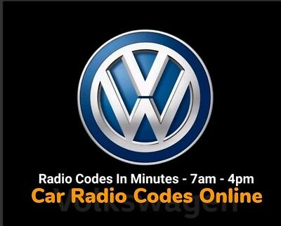 VW Polo SAFE Radio Code | Fast Service