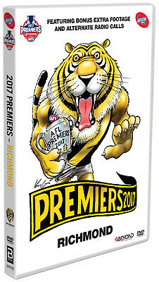 BRAND NEW AFL Premiers 2017 - Richmond Tigers : Grand Final DVD R4