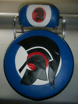 Trojan Head Scooter Wheel Cover & Back Pad Cover